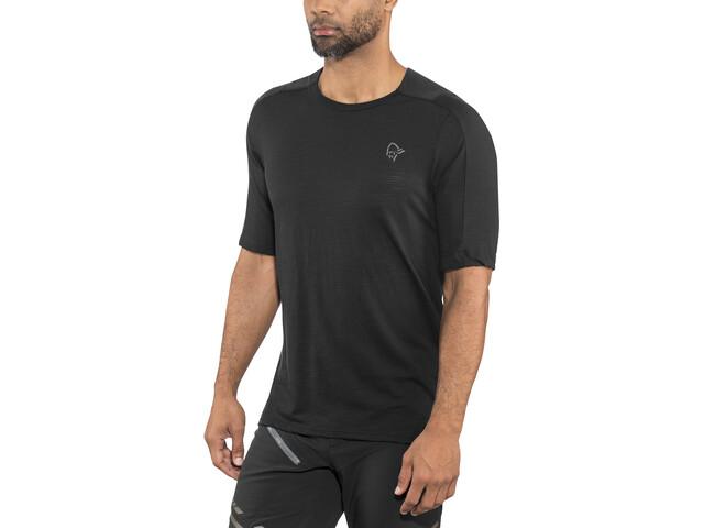 Norrøna Skibotn Wool Equaliser T-Shirt Herren caviar
